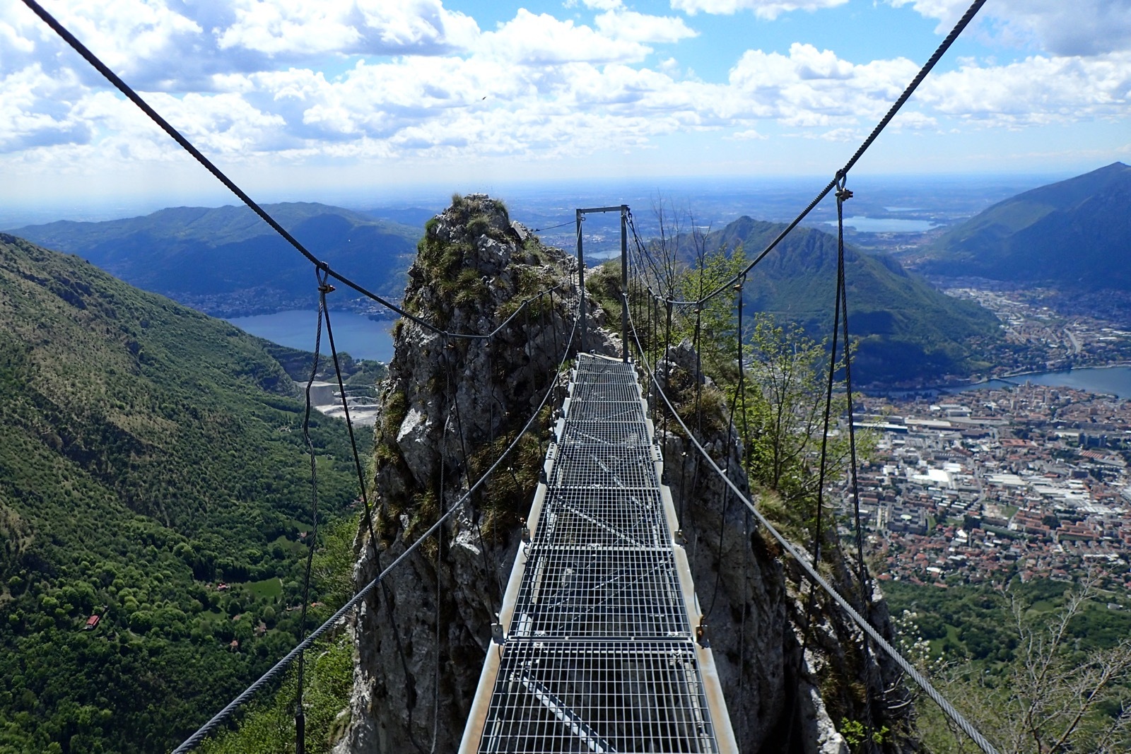 Ferrata alec 39 s blog for Piani di ponte ottagonale